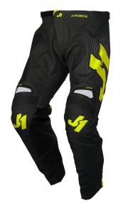 JUST1 MX-Pants J-FORCE Lighthouse grey-yellow fluo (38)