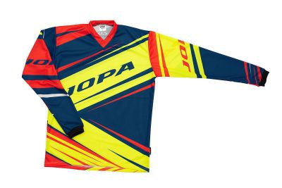 mxshirt rush neon yellownavy