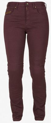pant paola wine red