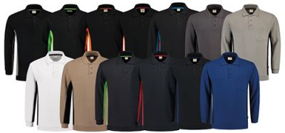 polosweater bicolor