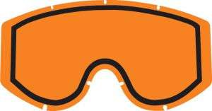 Polywel/RNR Double lens 100% Goggles Yellow