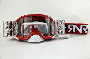 Rip 'n Roll Goggle Platinum WVS (48mm Roll Off) Red