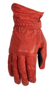 Rusty Stitches Gloves Johnny Red/Black XL