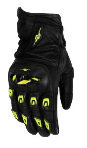 Rusty Stitches Gloves Quinn Black/Fluo Yellow L