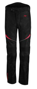 Rusty Stitches Pants Tommy Black-Red (46-XS)