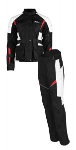 Rusty Stitches suits Jenny Black-White-Red (42)