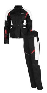 Rusty Stitches suits Jenny Black-White-Red (50)