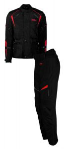 Rusty Stitches Suits Tommy Black-Red (48-S)