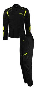 Rusty Stitches suits Tommy Black-Yellow Fluo (46-XS)