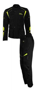 Rusty Stitches suits Tommy Black-Yellow Fluo (48-S)