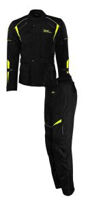 Rusty Stitches suits Tommy Black-Yellow Fluo (50-M)