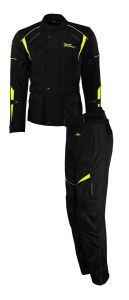 Rusty Stitches suits Tommy Black-Yellow Fluo (52-L)