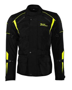 Rusty Stitches Tommy Jack Black-Yellow Fluo (66-7XL)